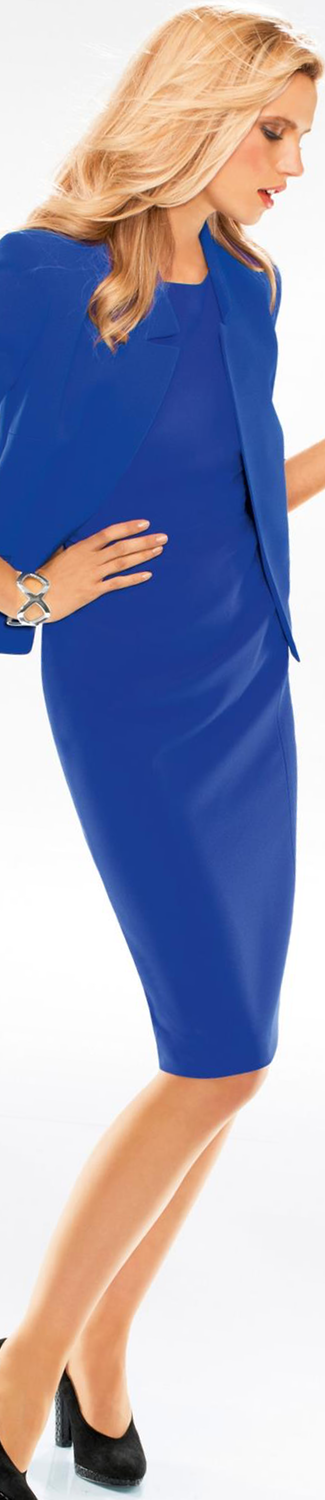 MADELEINE Dress in Royal Blue