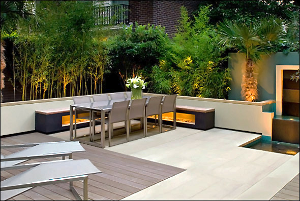 Rooftop garden design ideas modern design by for Contemporary gardens