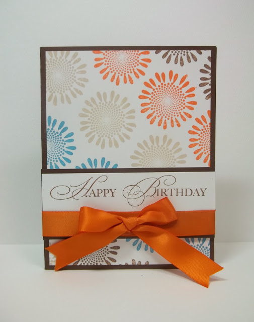 A Muse Studio Floral Happy Birthday Card