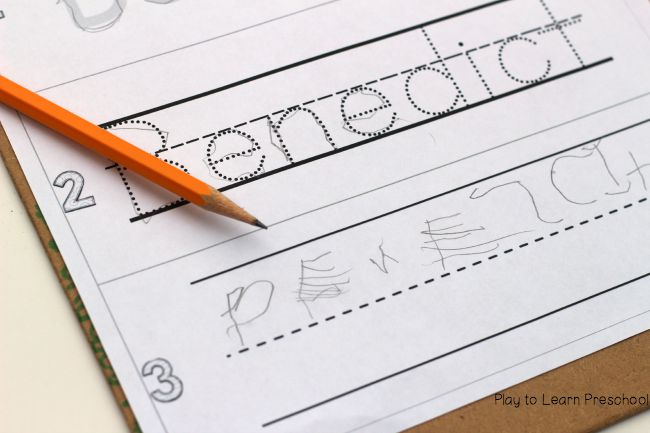 At What Age Do Children Write Their Names? | How To Adult