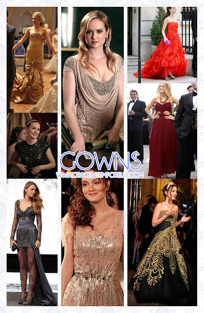 Gossip Girl gowns Grace Intemporelle