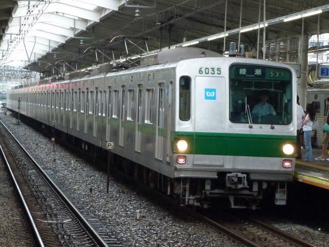 東京メトロ千代田線 綾瀬行き1 6000系幕式