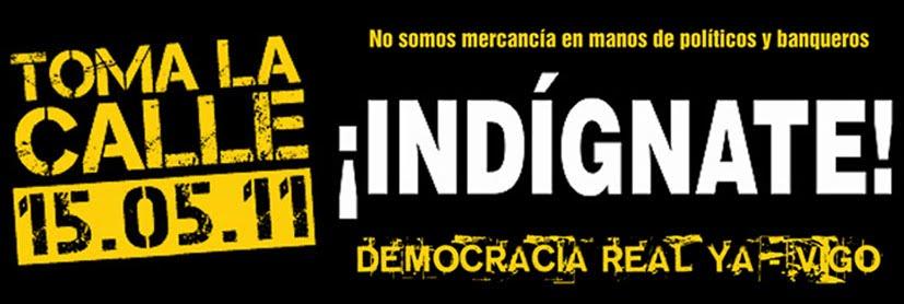 Democracia Real Ya - VIGO