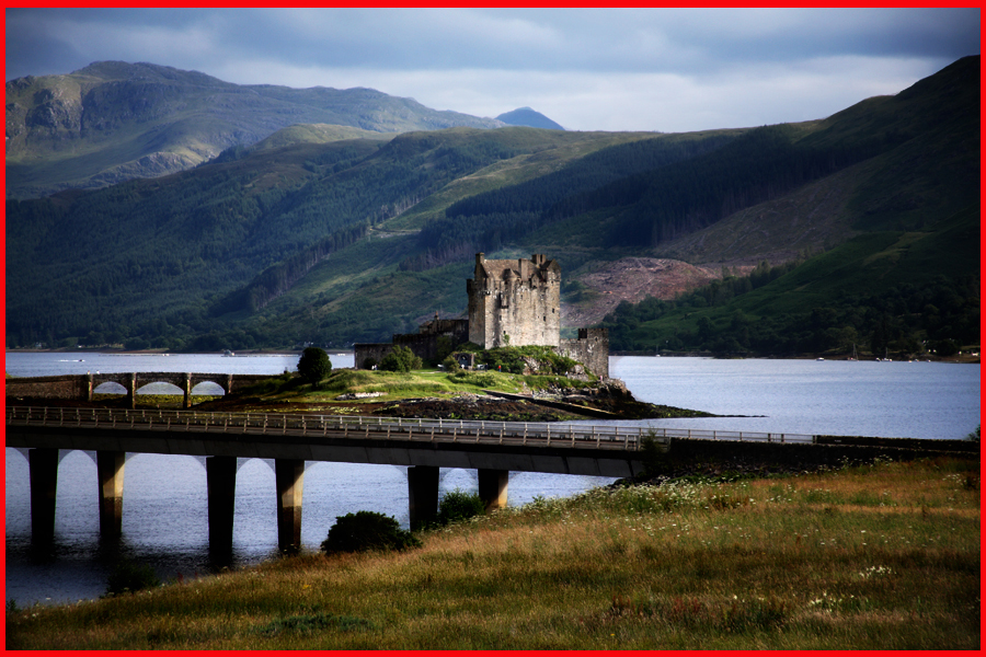 Eilean Donan Castle Dornie One Of The Most Visited Attractions In Scottish Highland This Grand Is World Famous And Has Been Seen Films