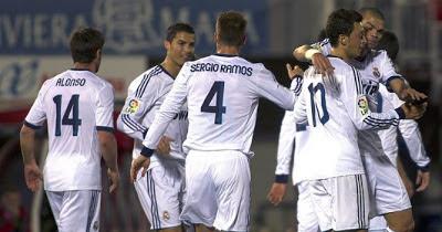 Celebración gol Real Madrid