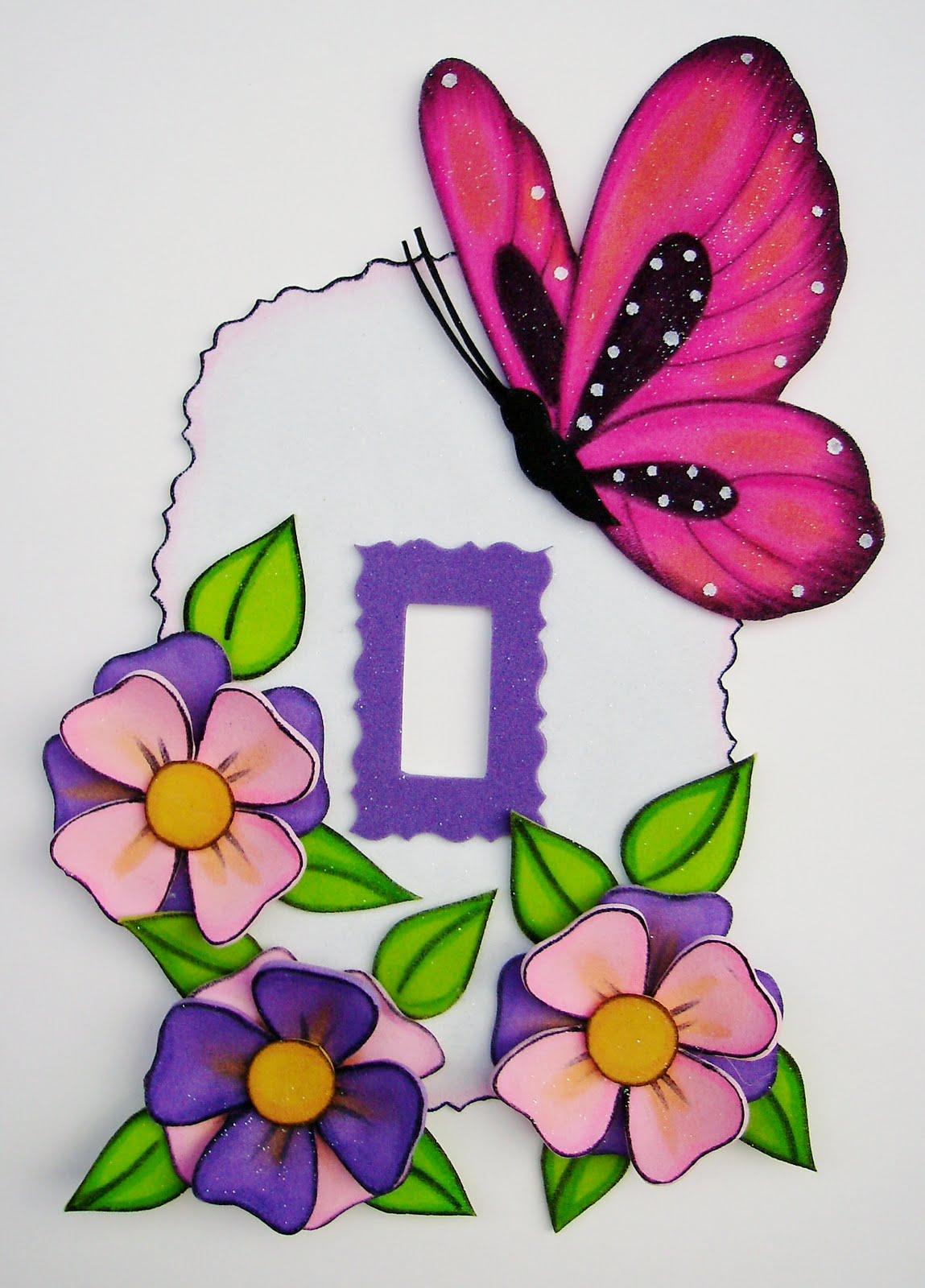 Imagenes De Baño En Foami: modelos de cotillones serie de mariposas serie de mariposas en trébol