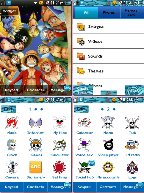 CORBY 2 THEMES: One Piece Theme by CuteCorby