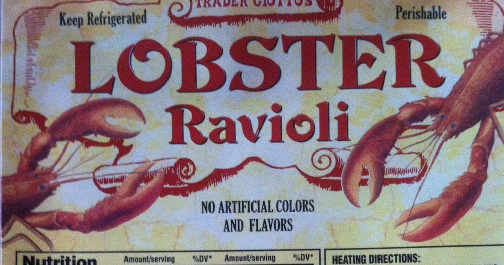 What's Good at Trader Joe's?: Trader Giotto's Lobster Ravioli