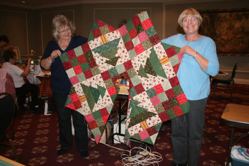 London Friendship Quilters Guild Quilt Til You Wilt