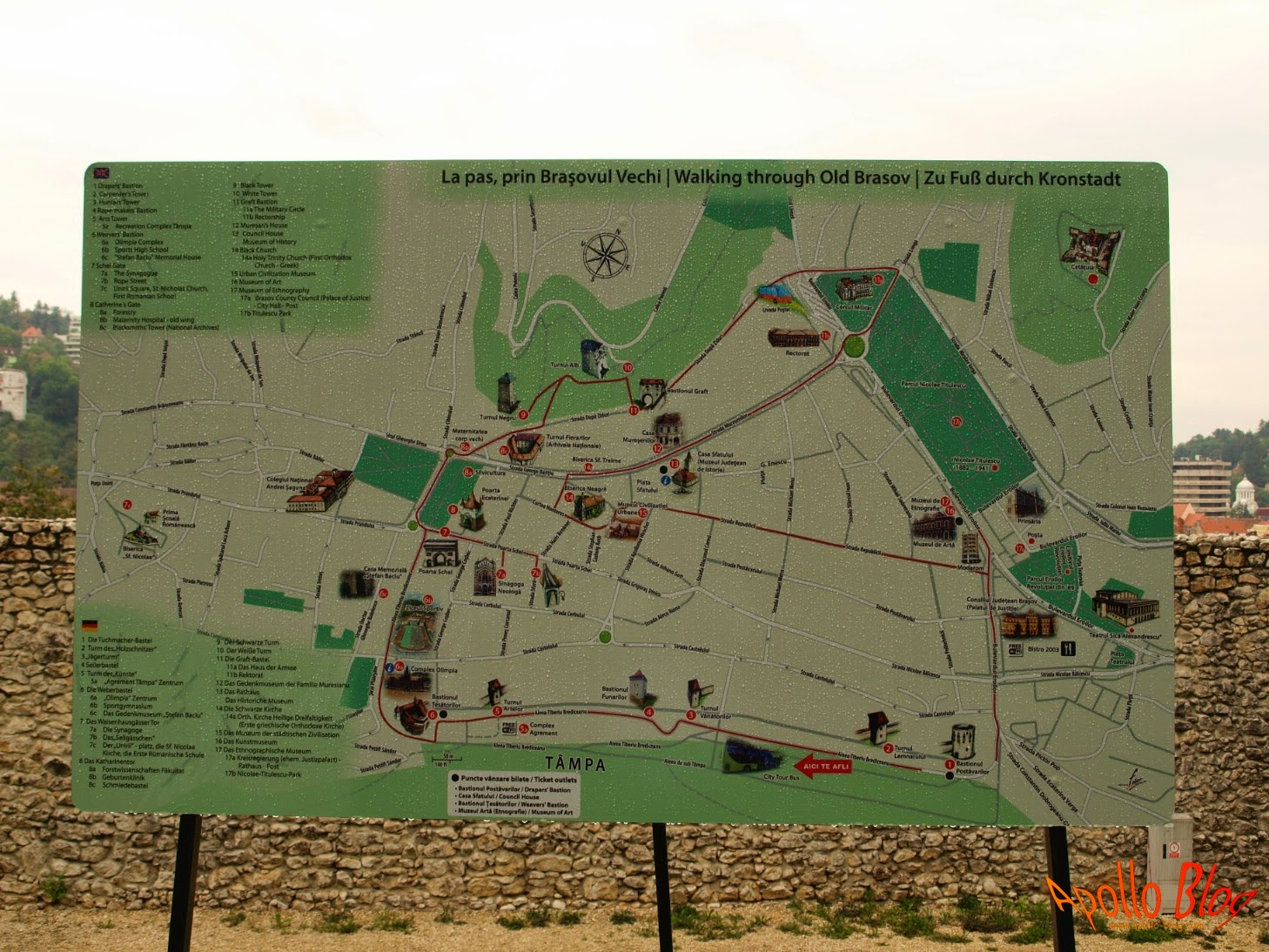 Harta Brasovul Vechi