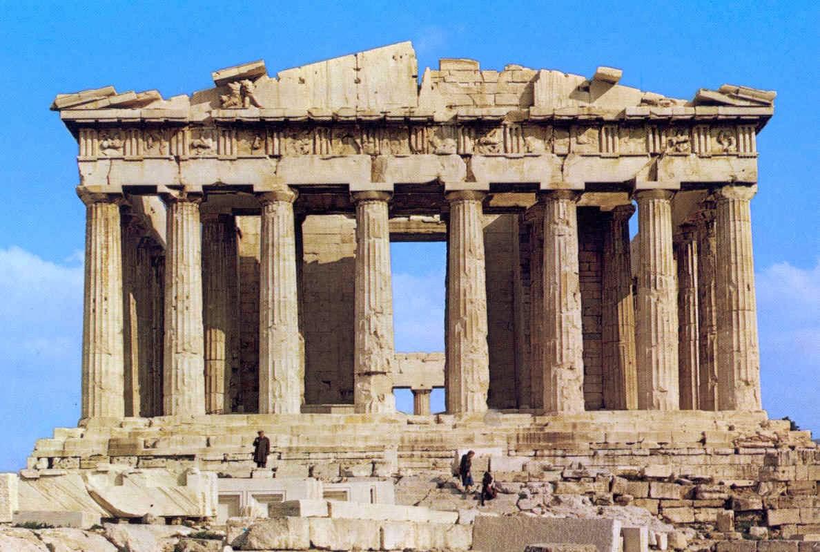 La arquitectura de grecia for Arquitectura de grecia