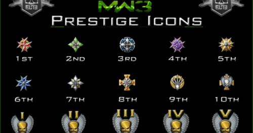 how to prestige in mw3