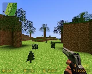 Minecraft em outros jogos CS+minecraft+1
