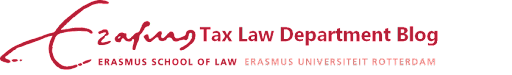 Tax Law Department - Erasmus School of Law
