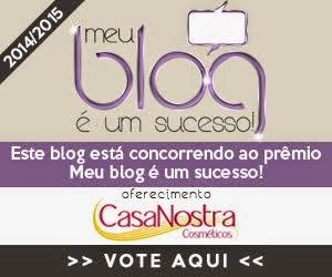 Votem no Blog Menina Mulher! ♥