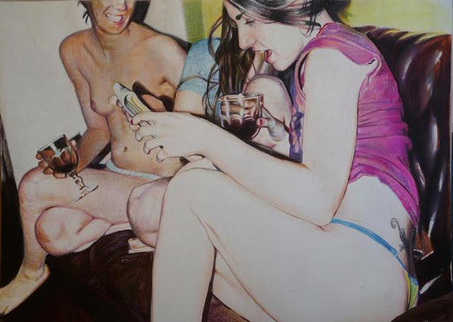 Diego Gravinese. Hiperrealismo Pintado