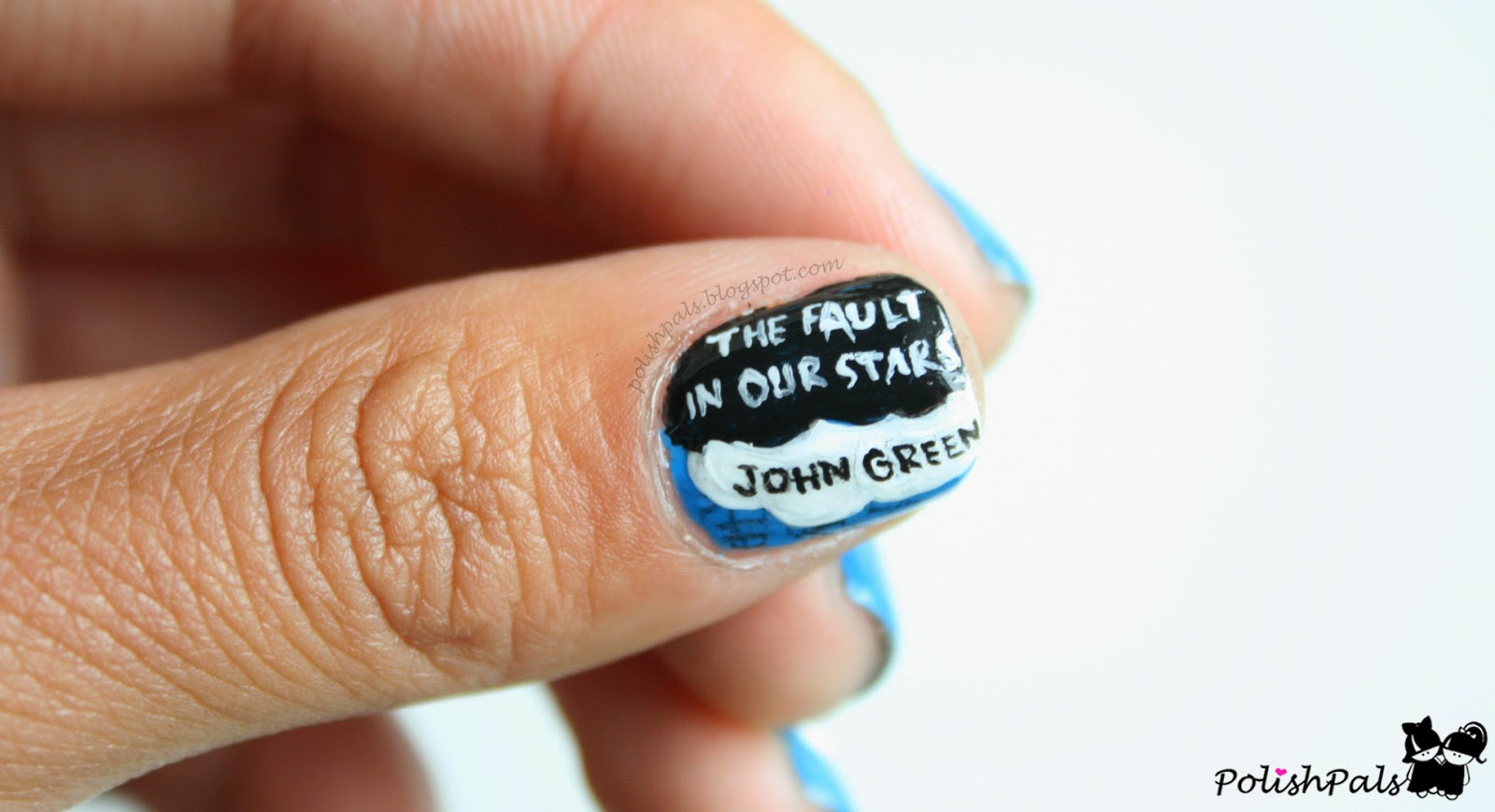 The Fault in Our Stars Inspired Nails