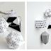 Geometryczne ornamenty - świąteczne diy.   Geometric ornaments - Christmas diy.