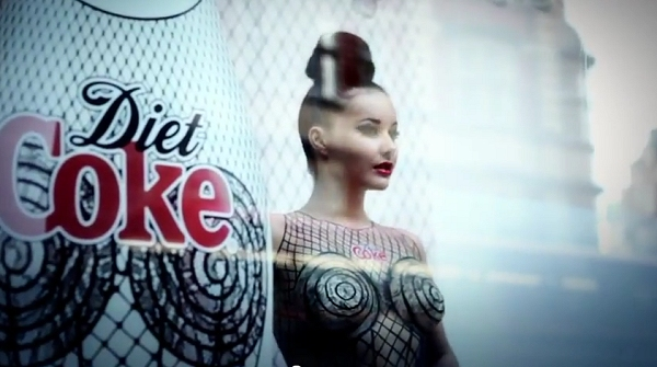 diet coke naked
