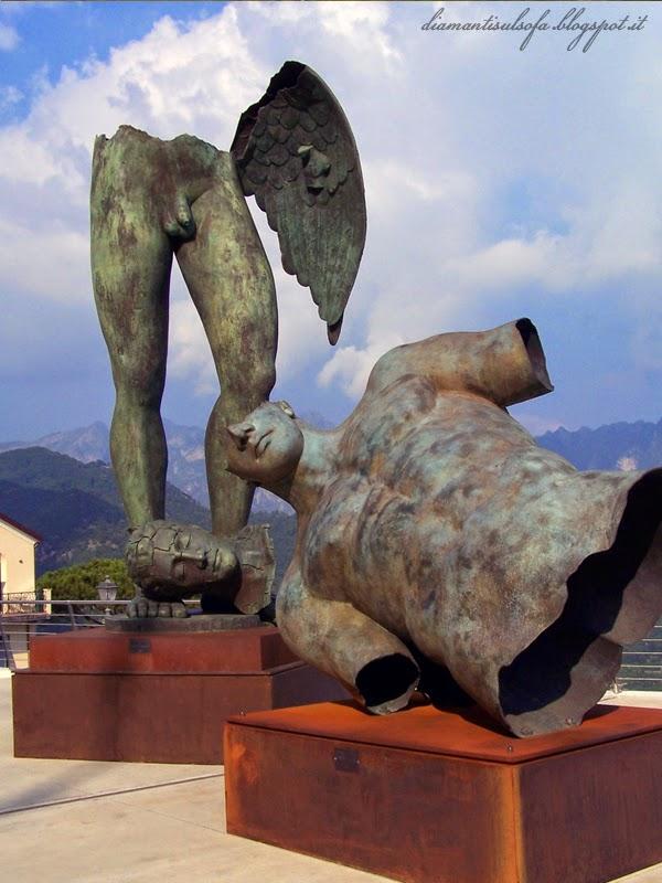 ravello-mostra-igor mitoraj-sculture