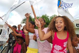 PRD tiñe de blanco Los Guarícanos en Santo Domingo Norte