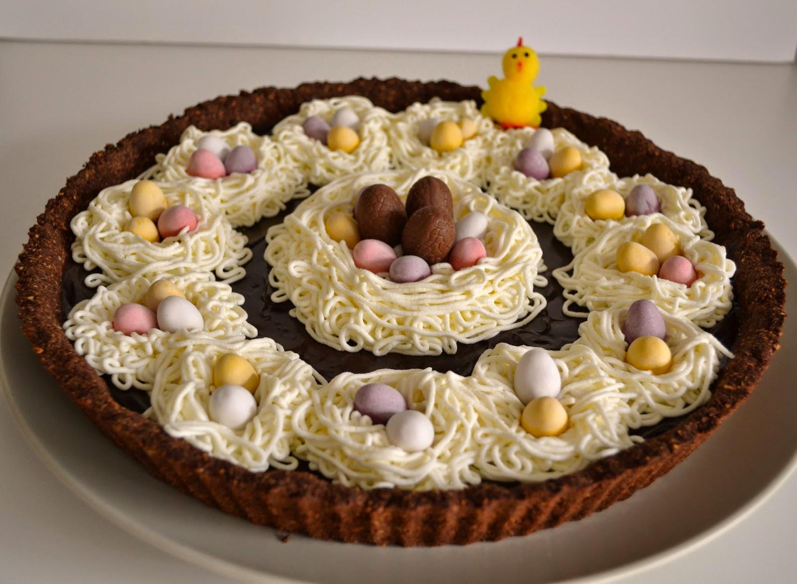 priv de dessert tarte au chocolat li geois de p ques ig bas. Black Bedroom Furniture Sets. Home Design Ideas