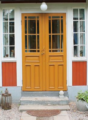 glasade pardörrar, spegeldörrar, farstukvist
