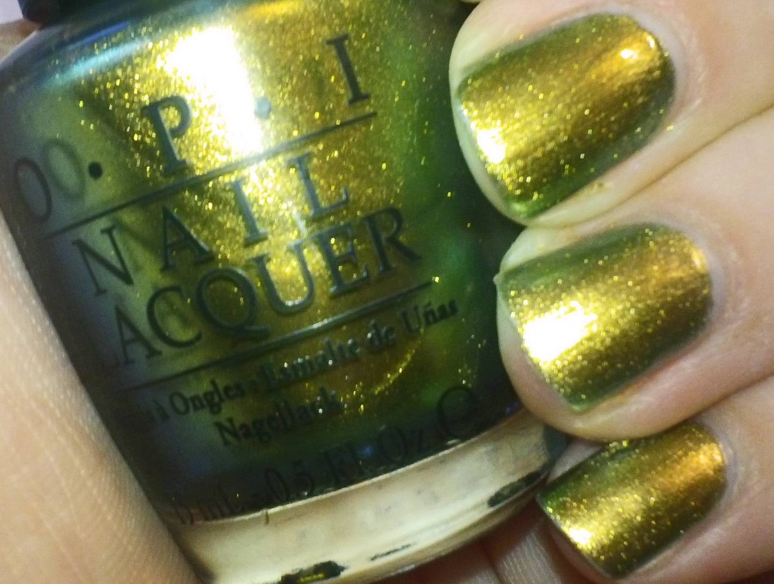 O.P. I. Nail Polish Review (Just spotted the Lizarrd) The Spiderman ...