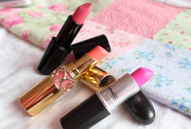 Luxury Lipstick YSL MAC Armani