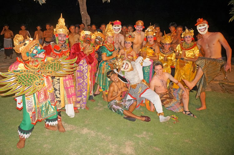 Traditional Kecak Dance Bali Indonesia Asiadance