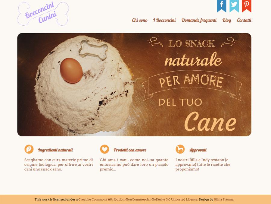 commissione sito + blog: Bocconcini Canini