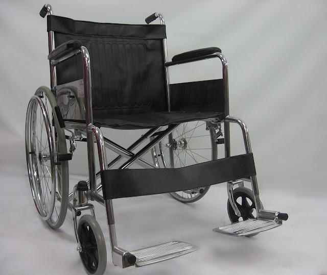 Kerusi roda tahan berat 载重轮椅 Heavy duty wheelchair