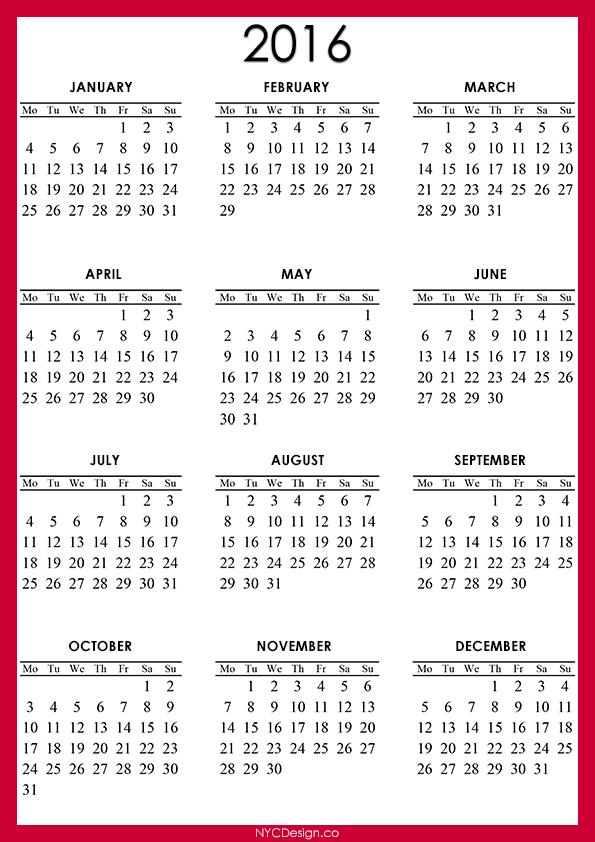 November Calendar 2014 Printable : New york web design studio ny calendar