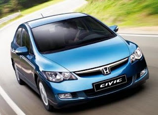 automotive  honda hybrid civic