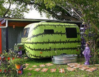Weird RVs: An RV you might want to eat on a hot summer day!