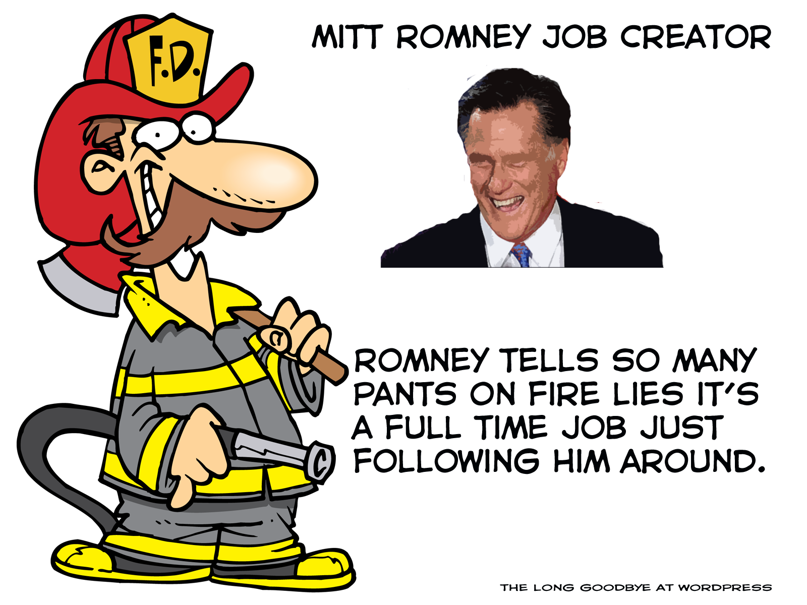 Romney  Romney pants on fire