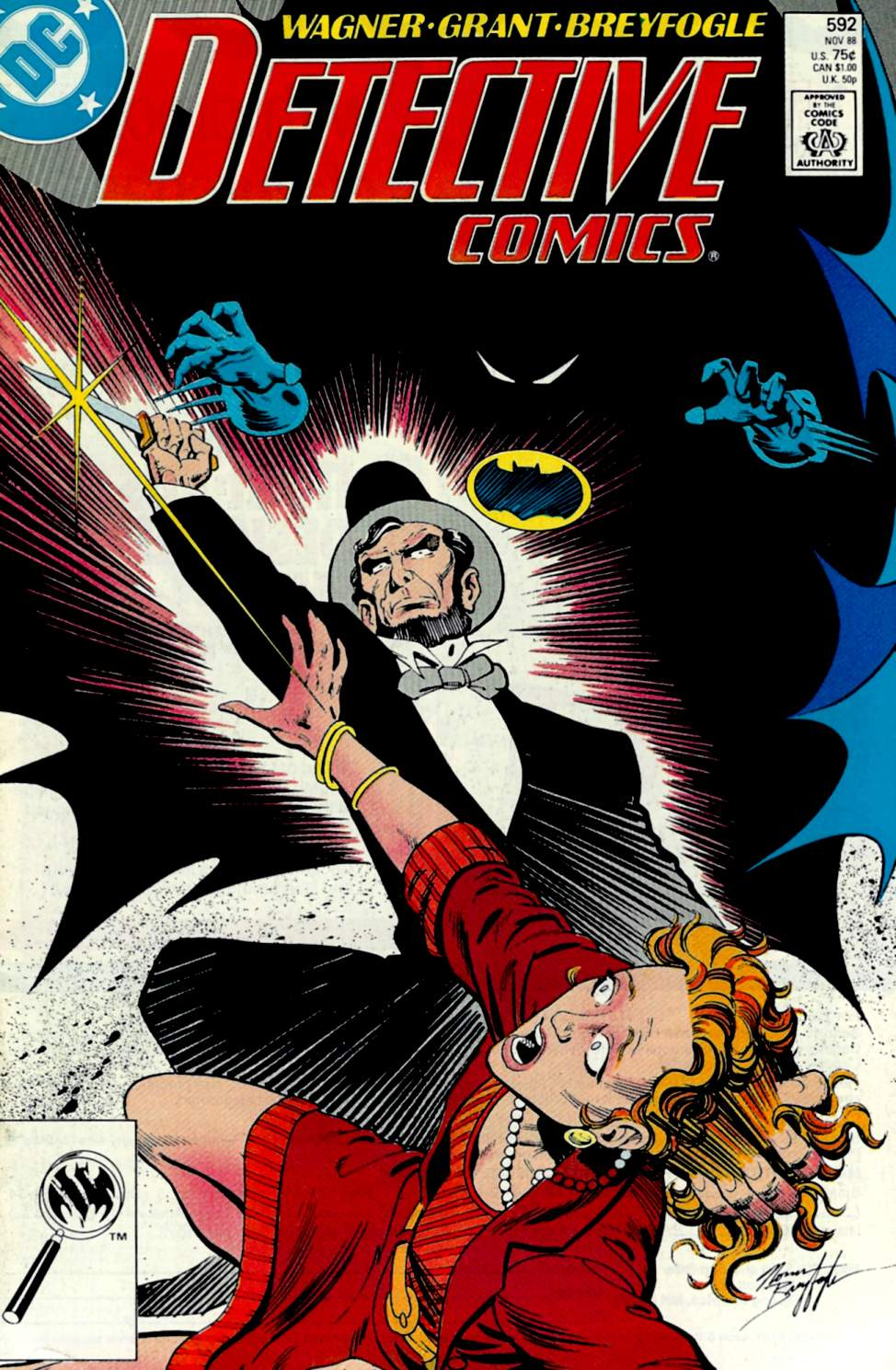 Detective Comics (1937) 592 Page 1