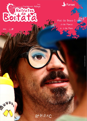 Retratos do Boitatá. Foto Guillermo Aldaya; Programação Visual Renan Marques.