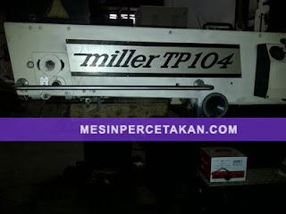 Miller TP104 Unimatic C3 | Mesin cetak 4 warna