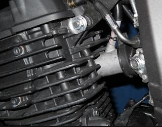 Teori pendingin motor dengan udara yang bekerja sendiri