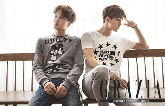 EXO Kai and Sehun
