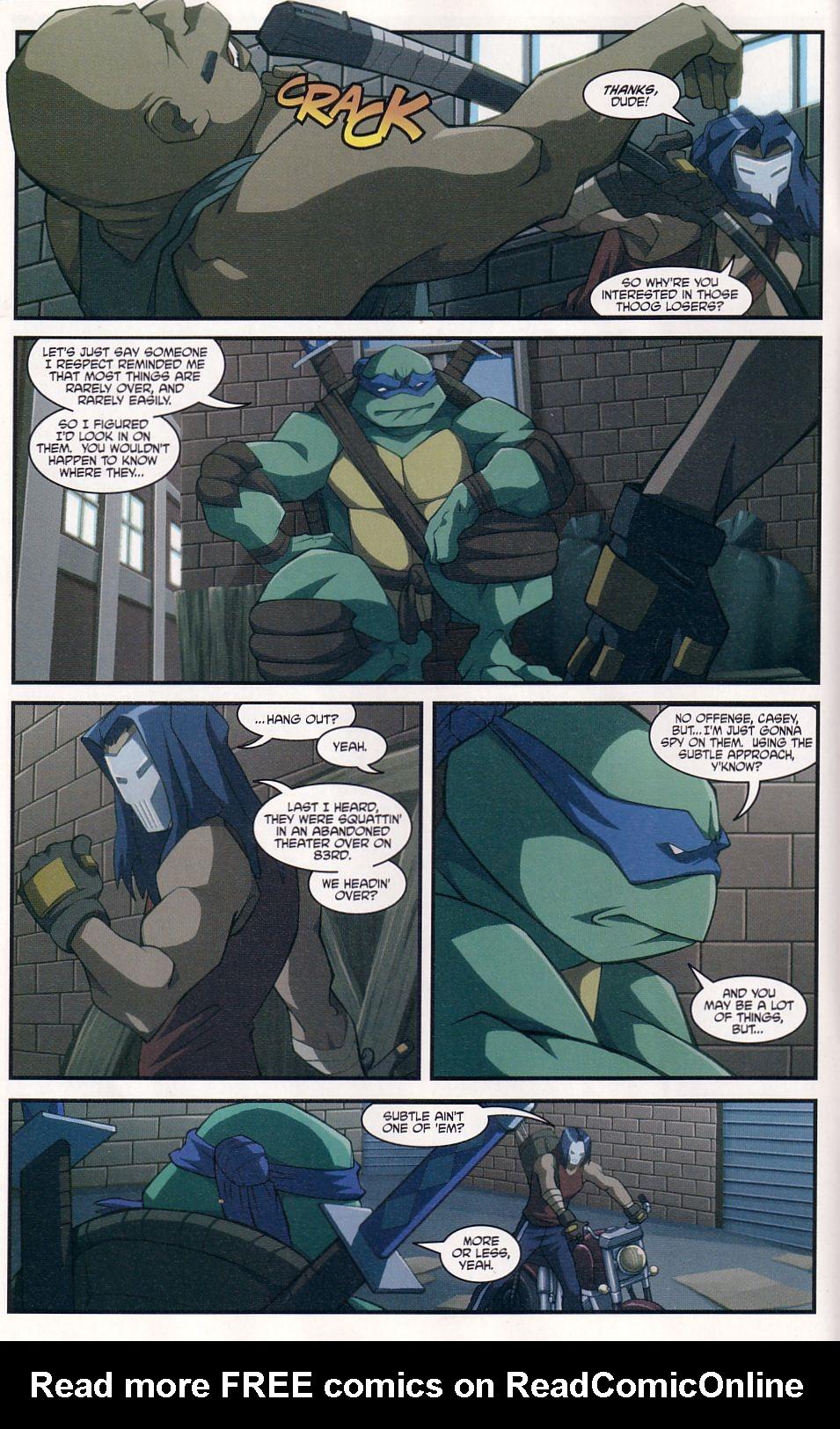 Teenage Mutant Ninja Turtles (2003) chap 7 pic 6
