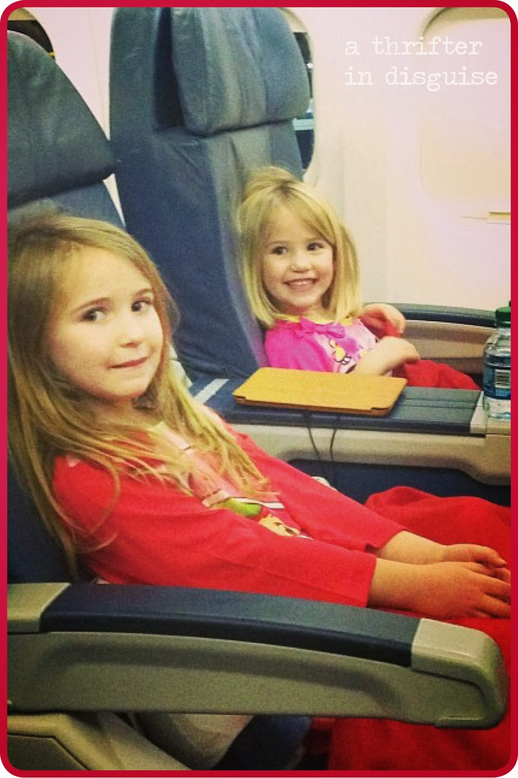 Ideas for kids on airplanes