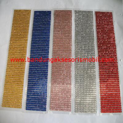 Berlian Lembaran Besar 5 Warna