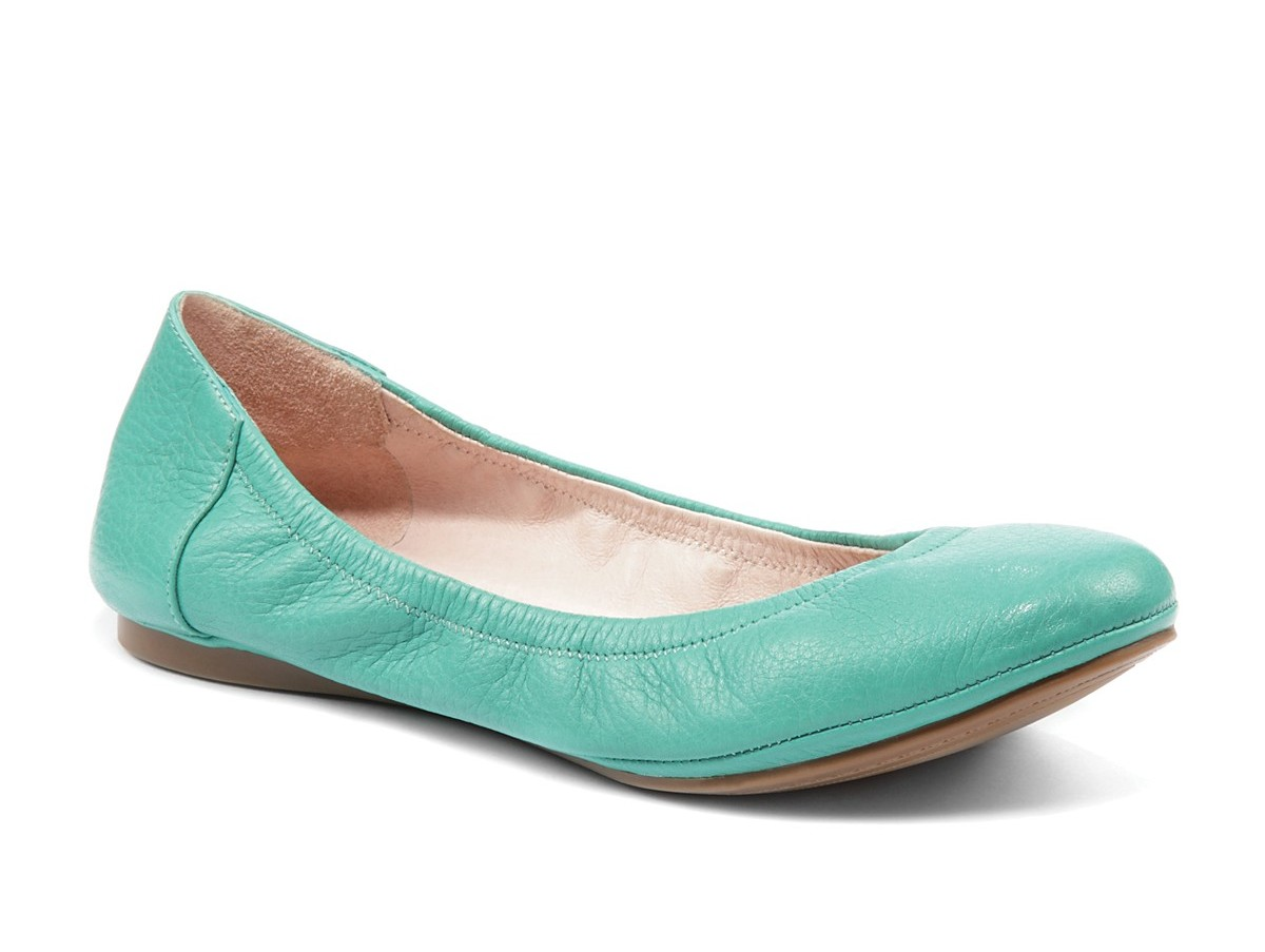 Mint Color Flat Shoes