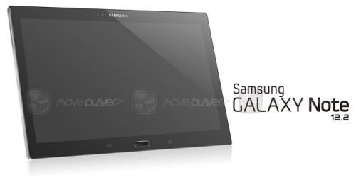 L'immagine rendering in anteprima del prossimo tablet da 12,2 pollici di diagonale di Samsung svelata