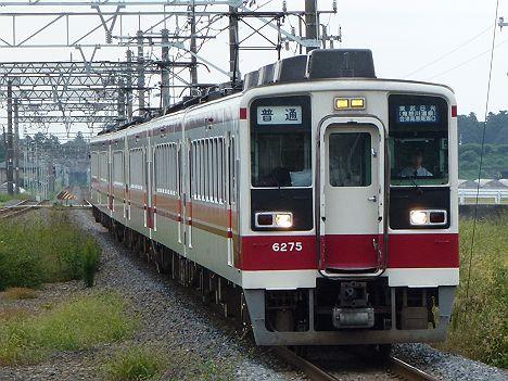 東武日光線・鬼怒川線 普通 会津高原尾瀬口行き 6050系(廃止)