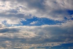 Blaues Himmelsmeer...