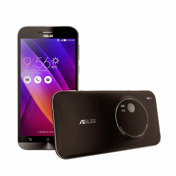 ASUS reveals ZenFone Zoom as the world's thinnest smartphone to feature a 13MP camera with a 3X optical zoom