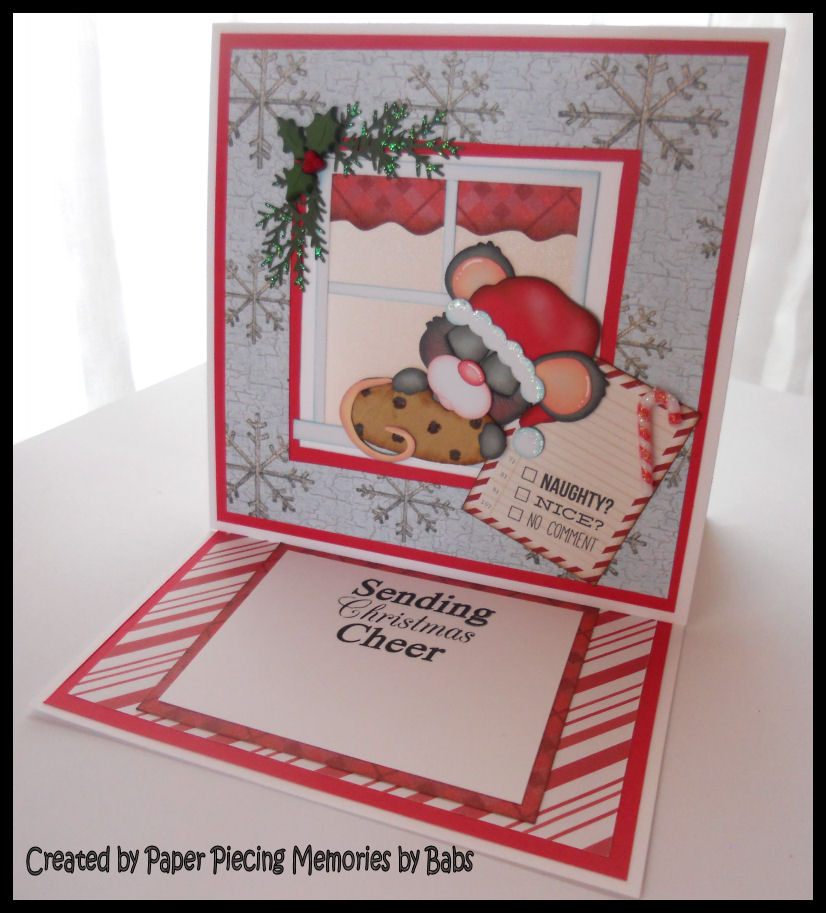 Paper piecing memories by babs light up christmas card the key to creating a light up card is choosing a design that has an element that can be illuminated an element such as a window fireplace moon ghost m4hsunfo
